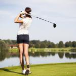 ゴルフスイング!女性にドライバーの飛距離を出させるには?